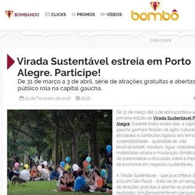 Virada Sustentável estreia em Porto Alegre. Participe!