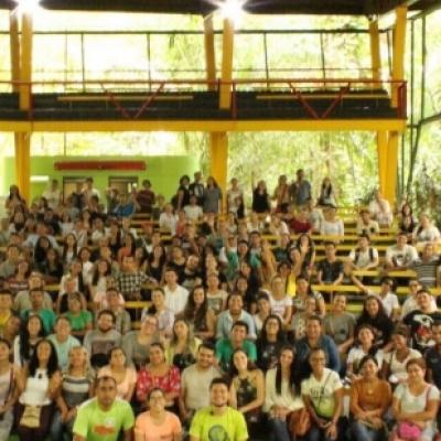 Viradeiros voluntários se reúnem no Mindu