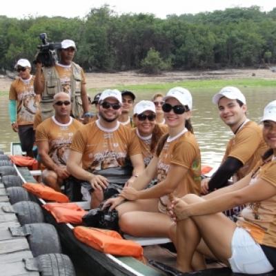 Projetos da Virada Sustentável Manaus promovem ação de limpeza dos mananciais no Tarumã