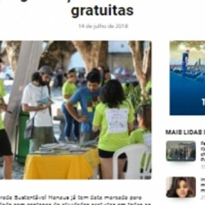 Virada Sustentável Manaus divulga programações com atividades gratuitas