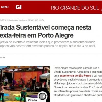 Virada Sustentável começa nesta sexta-feira em Porto Alegre
