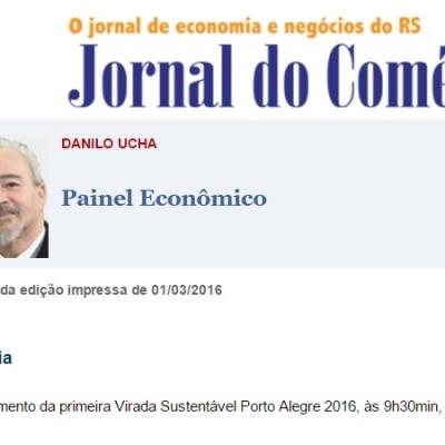 Jornal do Comércio – Lançamento da primeira Virada Sustentável