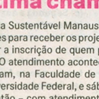 Última chamada Virada Sustentável Manaus