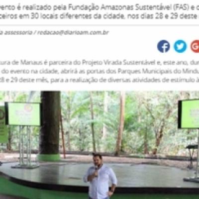 Parques Municipais do Mindu e Ponte dos Bilhares sediarão Virada Sustentável 2018