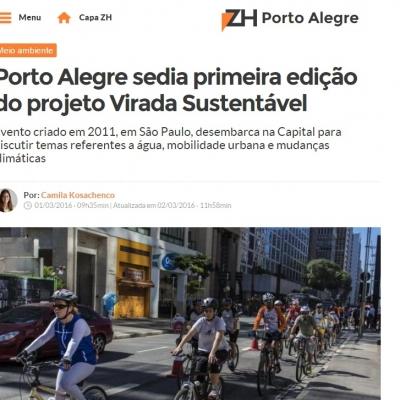 Porto Alegre sedia primeira edição do projeto Virada Sustentável