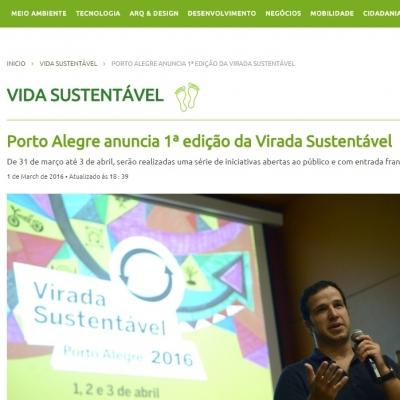 Porto Alegre anuncia 1ª edição da Virada Sustentável