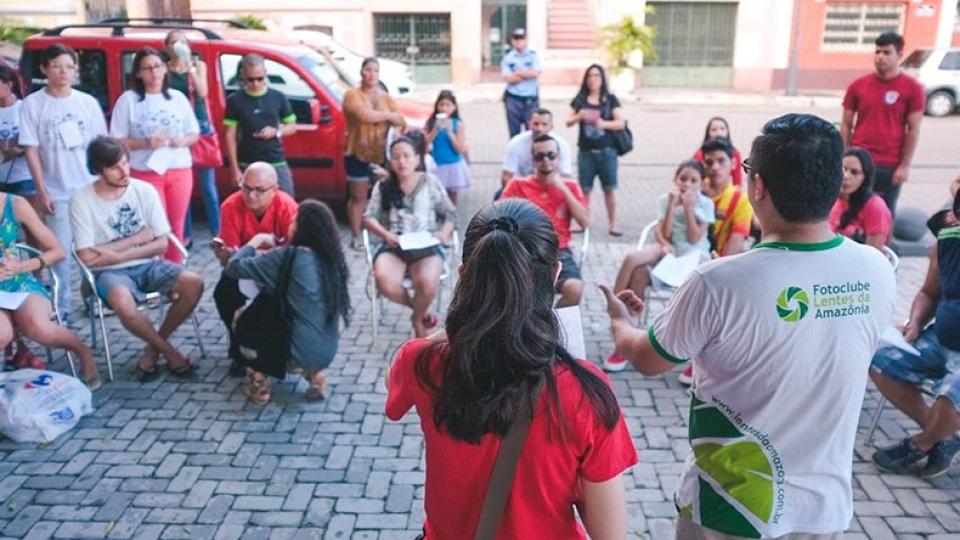 Sala de Imprensa Virada Manaus