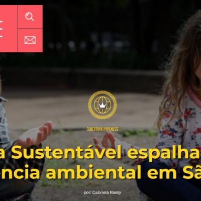 Virada Sustentável espalha arte e consciência ambiental em São Paulo
