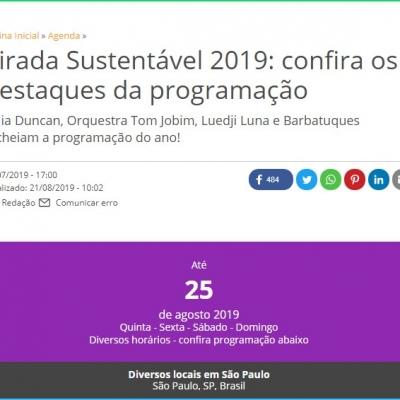 Virada Sustentável 2019: confira os destaques da programação