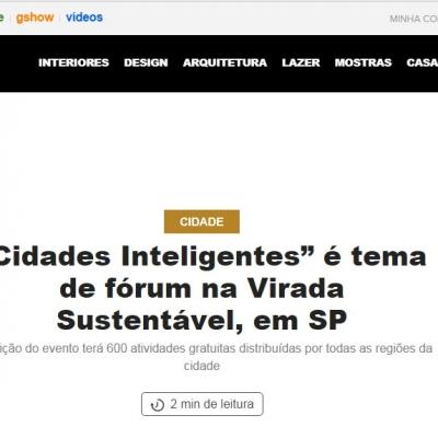 """""""Cidades Inteligentes"""" é tema de fórum na Virada Sustentável, em SP"""
