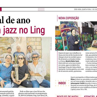 Final de ano com jazz no Ling
