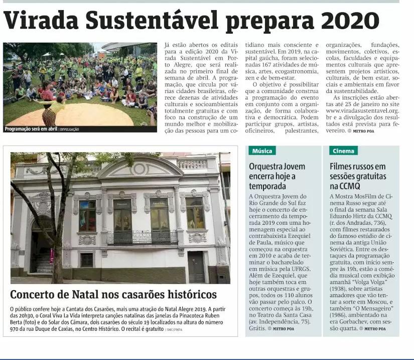 Virada Sustentável prepara 2020