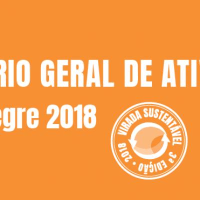 Relatórios de Resultado da Virada Sustentável Porto Alegre 2018
