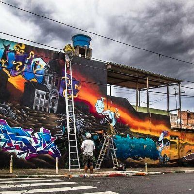 Graffiti na Kebrada |Conscientize-se