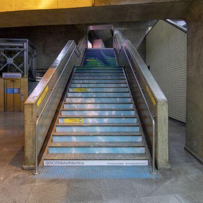 #MinhaMensagem | Metrô SP Estação Paraíso