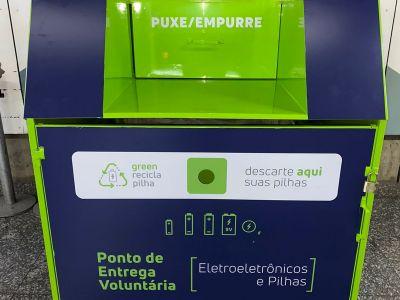 Coleta de Resíduos - Metrô e Green Eletron