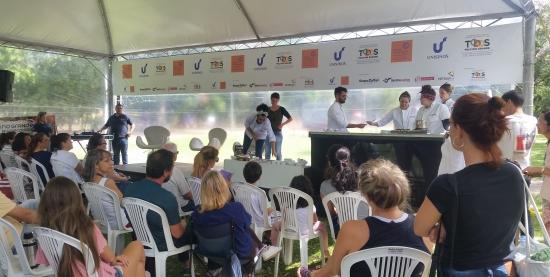 Tenda Ecogastronomica na Virada Sustentável
