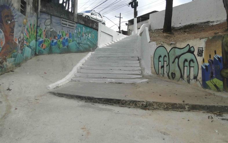 Intervenção Urbana | Escadão da Brasilândia