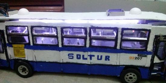 Miniaturas de Ônibus da Cidade de Manaus