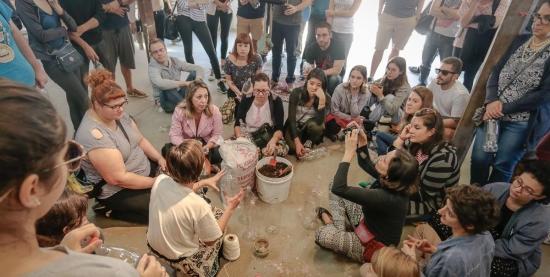 Oficina de Saúde na Horta | Como cuidar de plantas cultivadas em vasos?