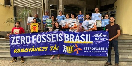 Oficina Zero Fósseis - Como proteger nosso planeta com o ativismo ambiental