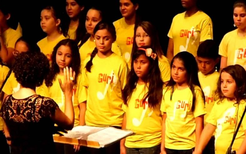 Coro Infanto Juvenil do Projeto Guri - Polo Jundiaí
