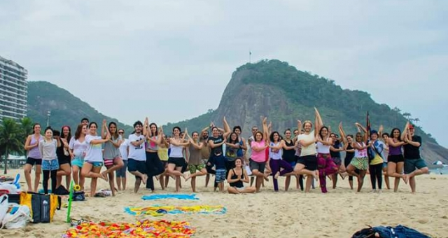 Yoga Flow com Krishna Atma