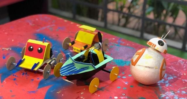 Upcycling de Resíduos em Brinquedos Incríveis