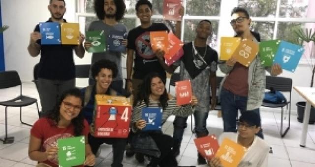 Amarelinha dos ODS