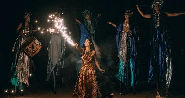 CONCHA Círculo de Mulheres   Ritual Mágico Cênico