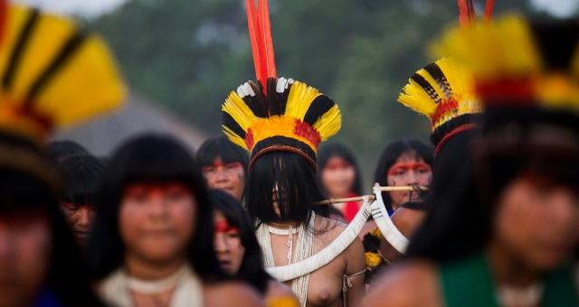Exposição Mulheres do Xingu